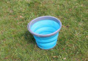 Motorhome Packing List - Folding Bucket