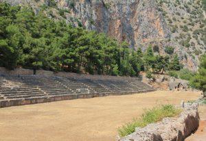 Stadium of Delphi, Greece