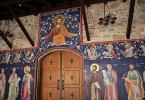 Church of Great Meteoron Monastery, Meteora near Kalabaka, Greece
