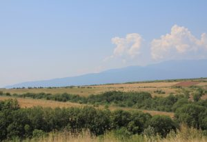Our first glimpse of Greece on our Road Trip