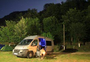 Campsite near Băile Herculane