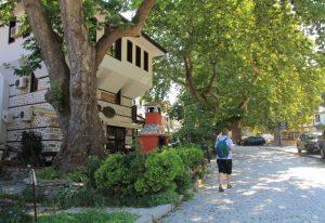 Wandering through Melnik on our Motorhome Road Trip
