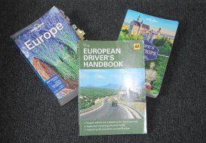 Travel Books - Motorhome Packing List