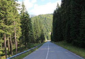 66A Road, Romania.  European Motorhome Road Trip