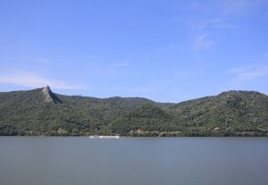 View of Serbia across the Danube
