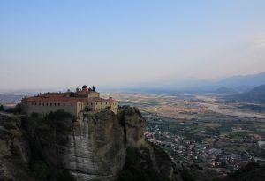Monastery of St. Stephen. Meteora, near Kalabaka, Greece. European Road Trip in a Motorhome!