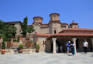 Varlaam Monastery, Meteora, near Kalambaka, Greece. Amazing visit during our Road Trip around Europe.