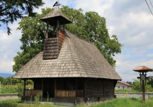 One of the  many Wooden Churches we saw on our Motorhome Road Trip