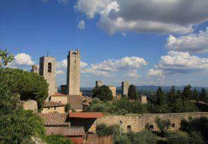 San Gimignano from a distance