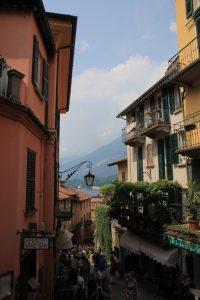 Streets of Bellagio, Lake Como, Italy.