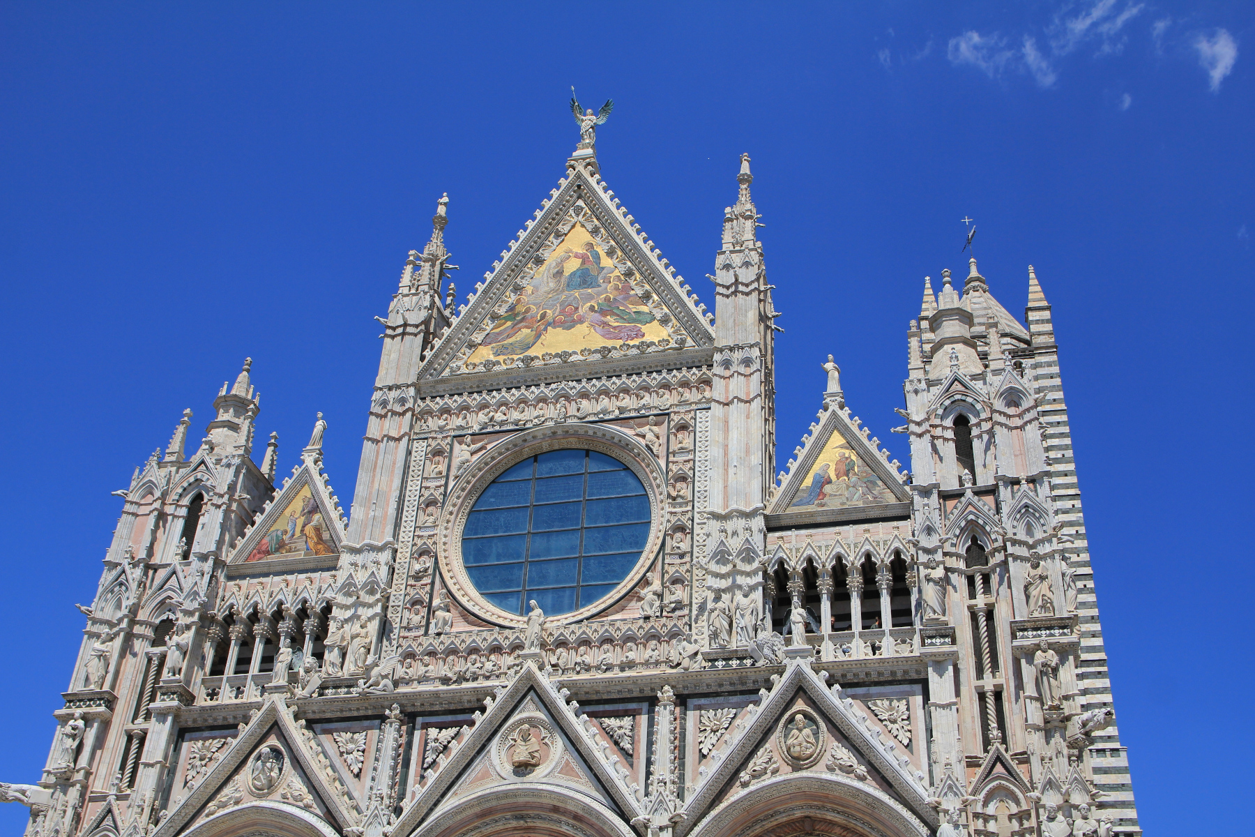 Siena Cathedral. Lovely stop on our European Motorhome road trip.