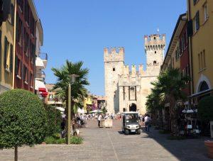 Scaligero Castle, Sirmione, Italy.