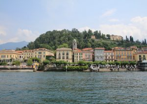 Bellagio as seen from the Ferry on Lake Como.