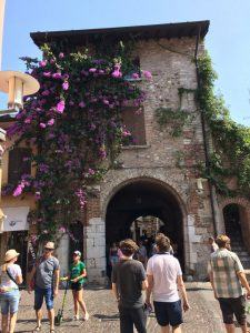 Lovely archway in Simione. Lake Garda is a must on any road trip!