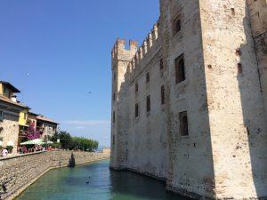 Scaligero Castle in Sirmione, Lake Garda.