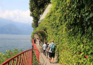 Exploring Verena on foot. Lake Como, Italy during our European Road Trip.